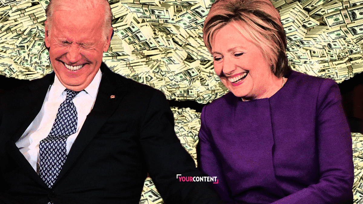 Hillary Clinton Raised $2 Million for Joe Biden During Online Fundraising Event He Didn't Attend