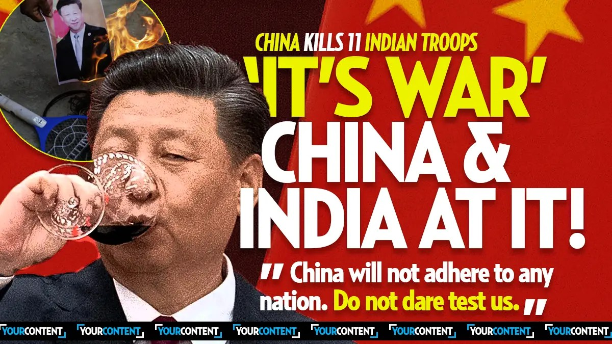 Chinese Troops Kill 20 Indian Soliders as China Threatens World Powers, Pres. Trump Briefed