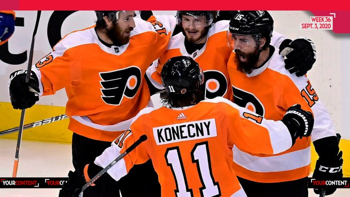 Philadelphia Flyers Defeat NY Islanders, Officially Tying the Series