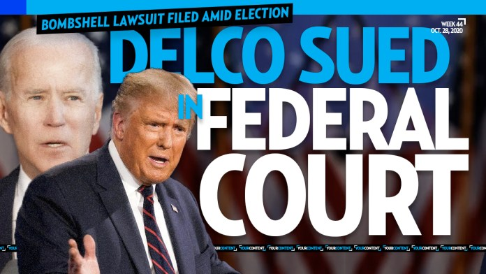 Delaware County Sued in Federal Court for 'Creating Three New Election Days' Amid Nov. 3