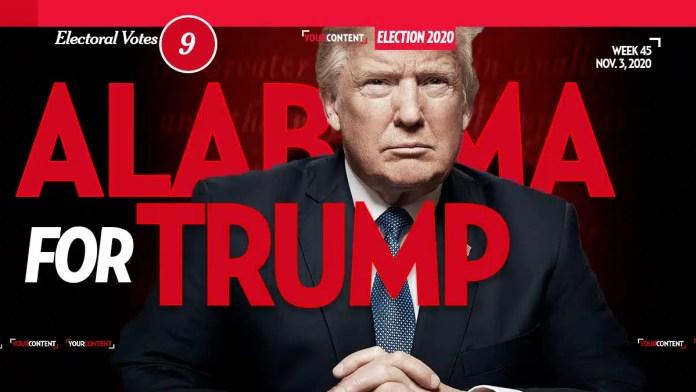 President Donald Trump Wins Alabama