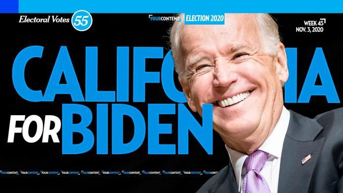 Joe Biden Wins California
