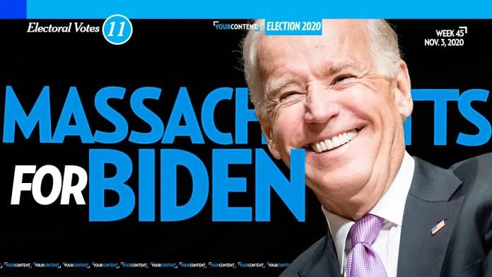 Joe Biden Wins Massachusetts