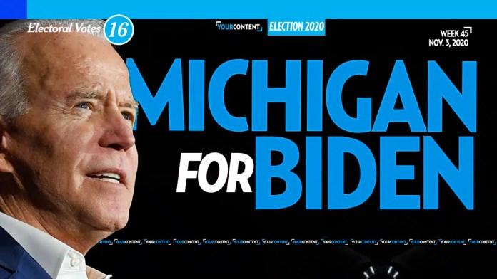 Joe Biden Wins Michigan