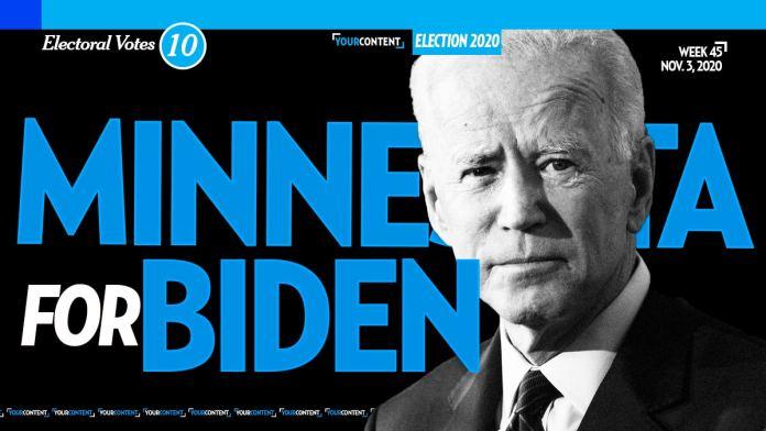Joe Biden Wins Minnesota