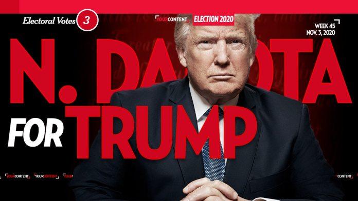 President Donald Trump Wins North Dakota