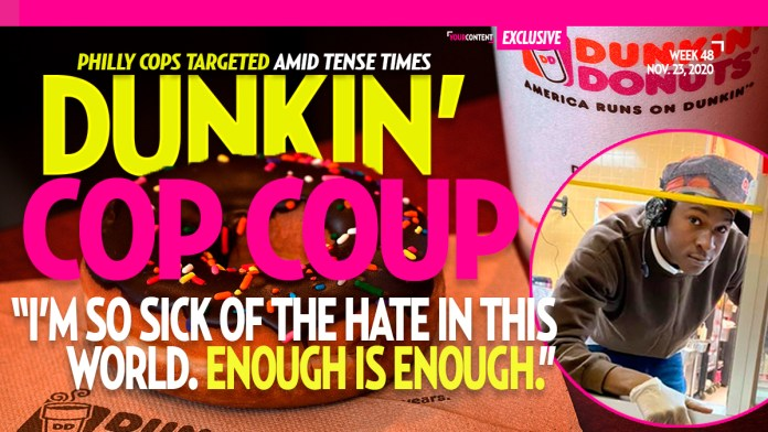 Police Targeted in Philadelphia Region Dunkin' Donuts Locations, K9 Pup Taunted by Coffee Man