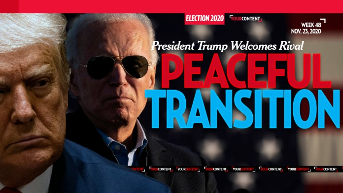 President Trump Begins Transition for President-Elect Biden: 'In the best interest of our Country'