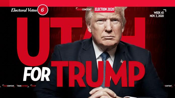 President Donald Trump Wins Utah