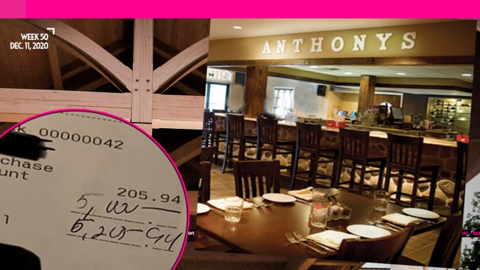 Person Gives $5,000 Tip to Local Eatery Amid Closures