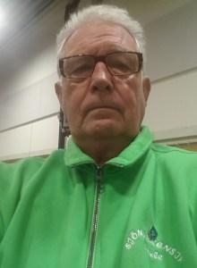 Lasse Ahlberg i nya klubbens tävlingsdress.