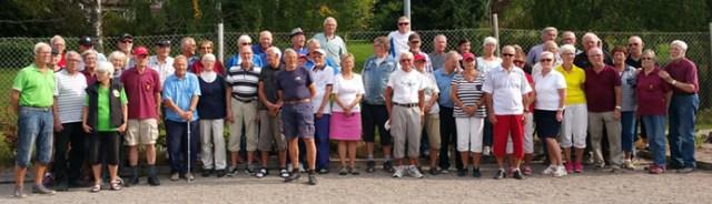 Samtliga spelare vid årets avslutning i Borgen Cup.