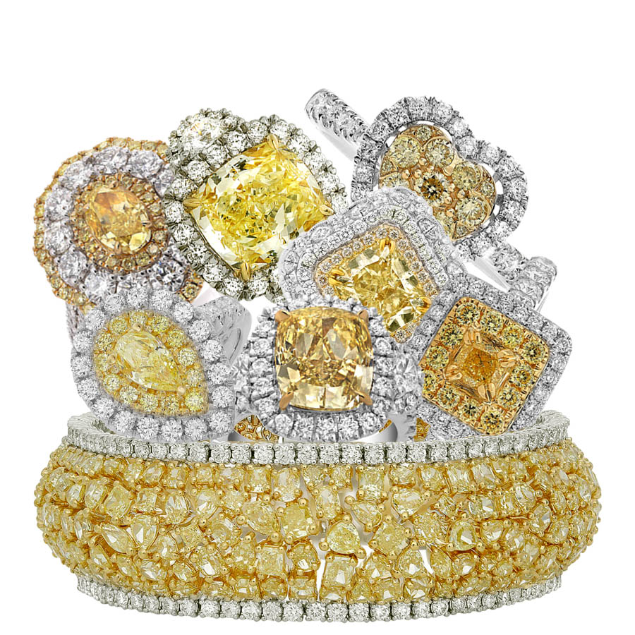 What Does Yellow Diamond Symbolize? - AleshaTech