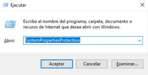 crear punto de restauracion windows 10