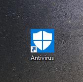 crear acceso directo antivirus microsoft