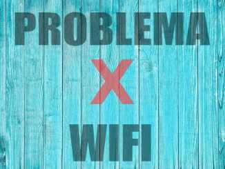 me sale una x en wifi