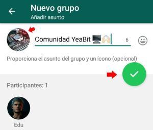 crear grupo de whatsapp