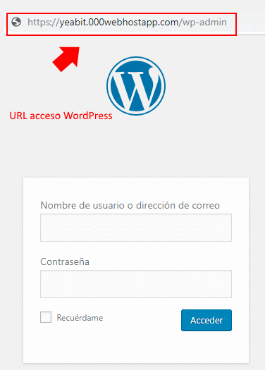 hosting gratis WordPress