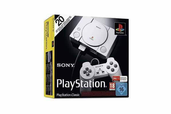 Sony PlayStation Classic mini caja