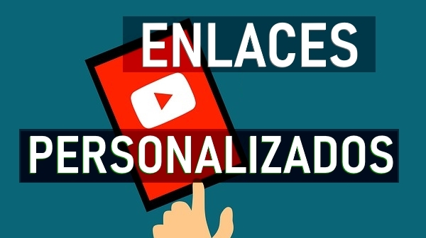 añadir enlaces canal youtube