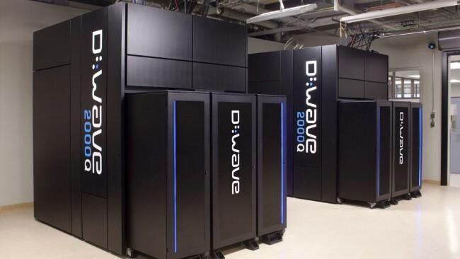 ordenador cuantico d wave 2000q