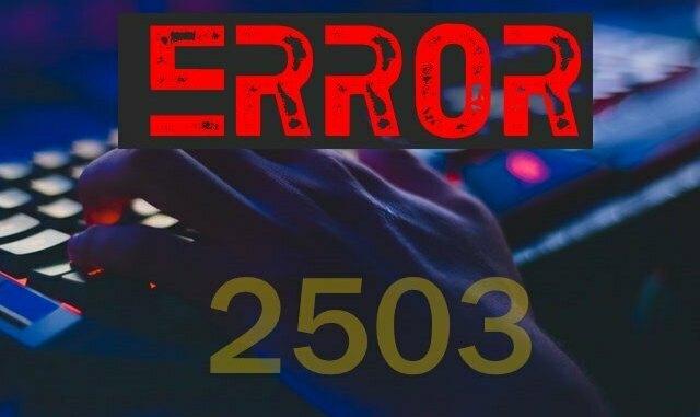 2503 fortnite error