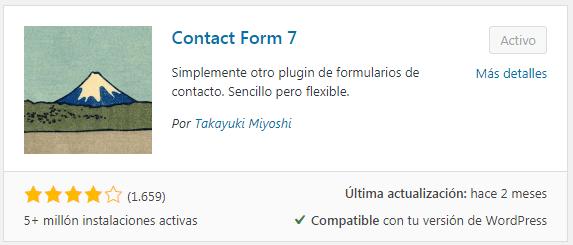 crear un formulario en wordpress