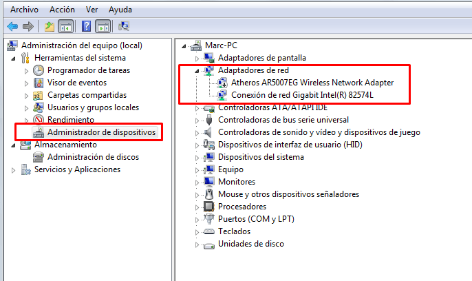 el raton se bloquea constantemente windows 7