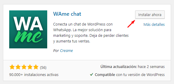 poner boton whatsapp en wordpress