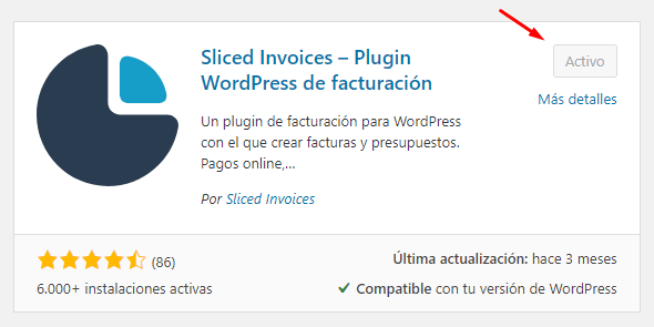 plugin de facturacion en wordpress
