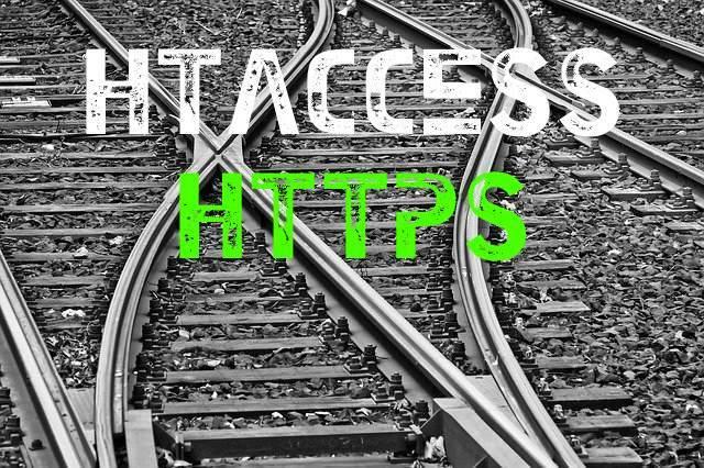 como redirigir https htaccess html