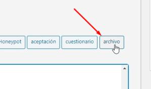 adjuntar archivo formulario wordpress