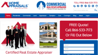 Home Appraisal Website. home appraisals by vri homes new