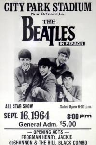 Beatles- New Orleans - Poster