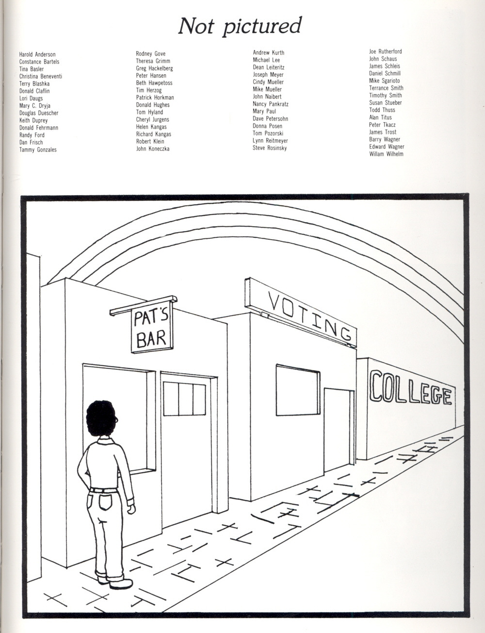 Page 163, 1980 Manitowoc Lincoln High School Yearbook and