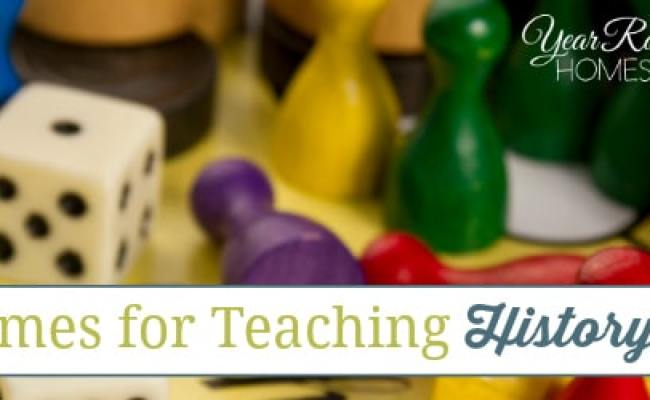 15 Games For Teaching History Year Round Homeschooling