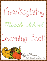 Free Thanksgiving Math Worksheets For Middle School ...