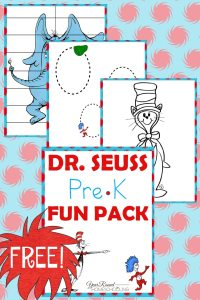 Dr Seuss Printable Worksheets For Preschool. Dr. Best Free