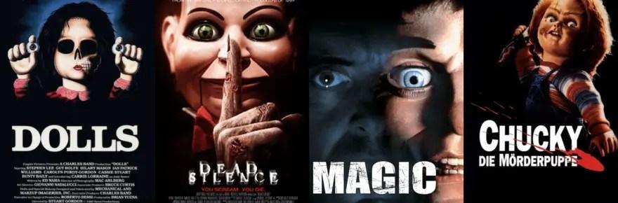 13 Horrorfilme mit gruseligen Puppen, die ihr gesehen haben solltet