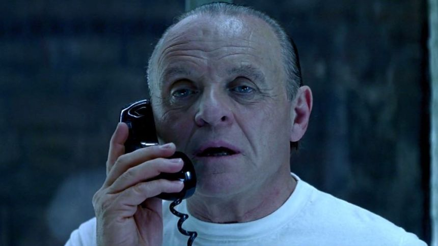 Anthony Hopkins als Hannibal Lecter in Roter Drache