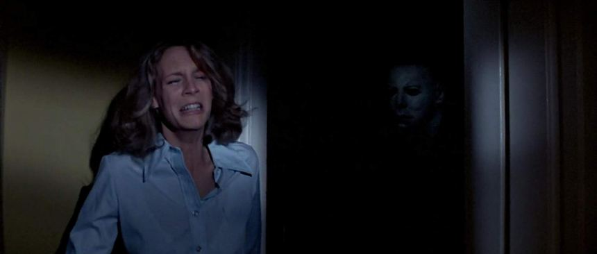 Laurie Strode und Michael Myers in Halloween