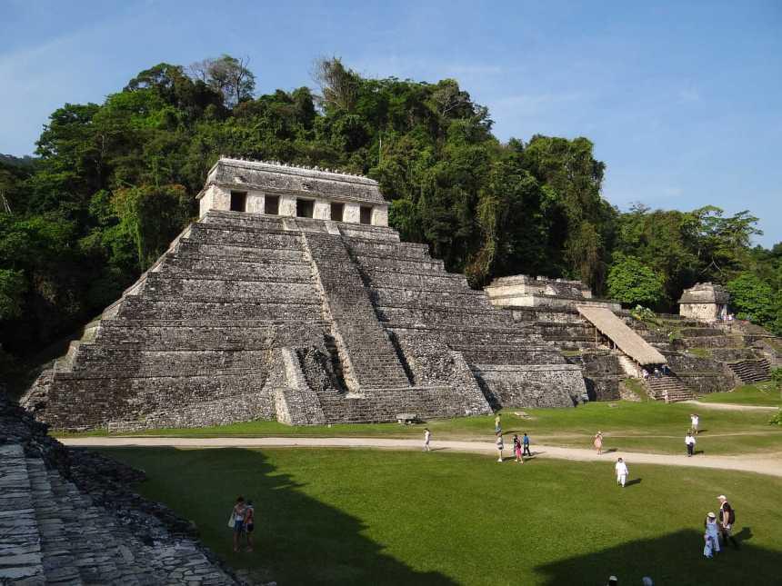Maya Yucatan Ruinen