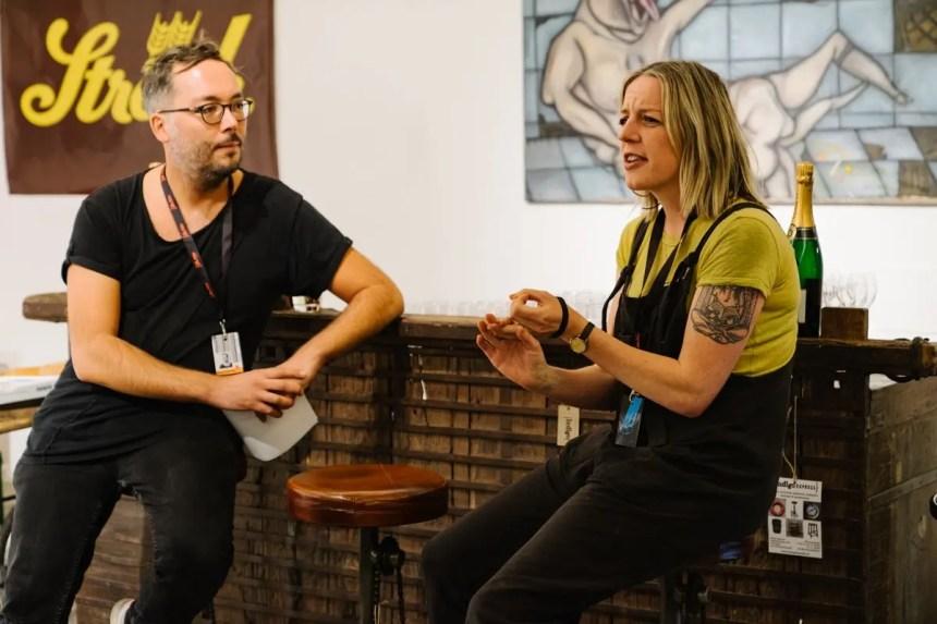Alison Peirse beim /slash Filmfestival