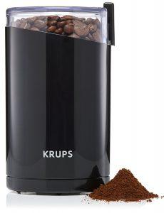 Krups F203 Moulin à Café 200 W 75g Noir