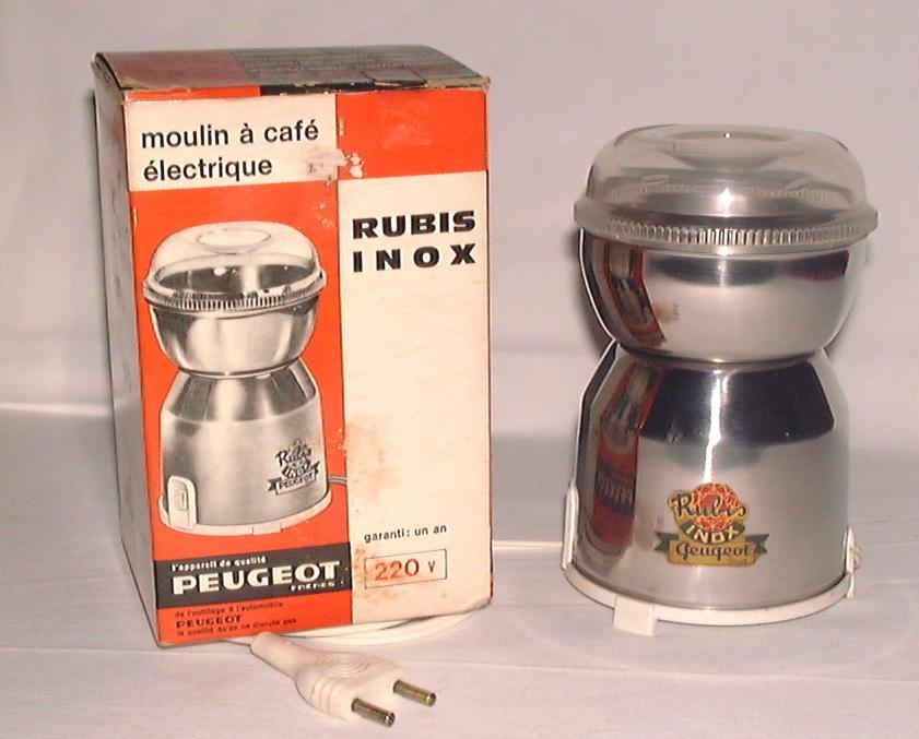 moulin a cafe peugeot electrique