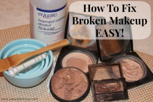 How To Fix Broken Makeup – EASY!