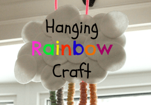 Hanging Rainbow Craft