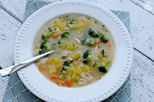 Barley, Squash and Broccoli Soup – Ricardo Cuisine