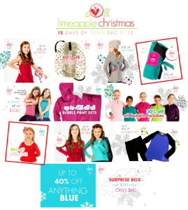 Limeapple Christmas – 12 Days of Deals