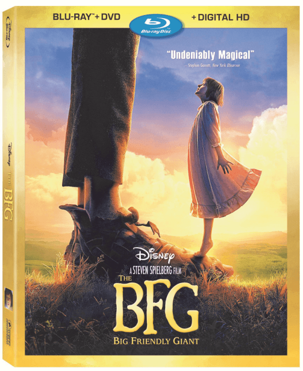 The Big Friendly Giant Blu-ray